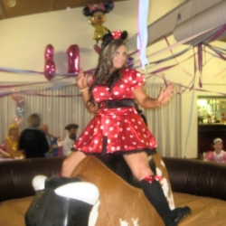 Bucking bull is the perfect activity for birthday parties