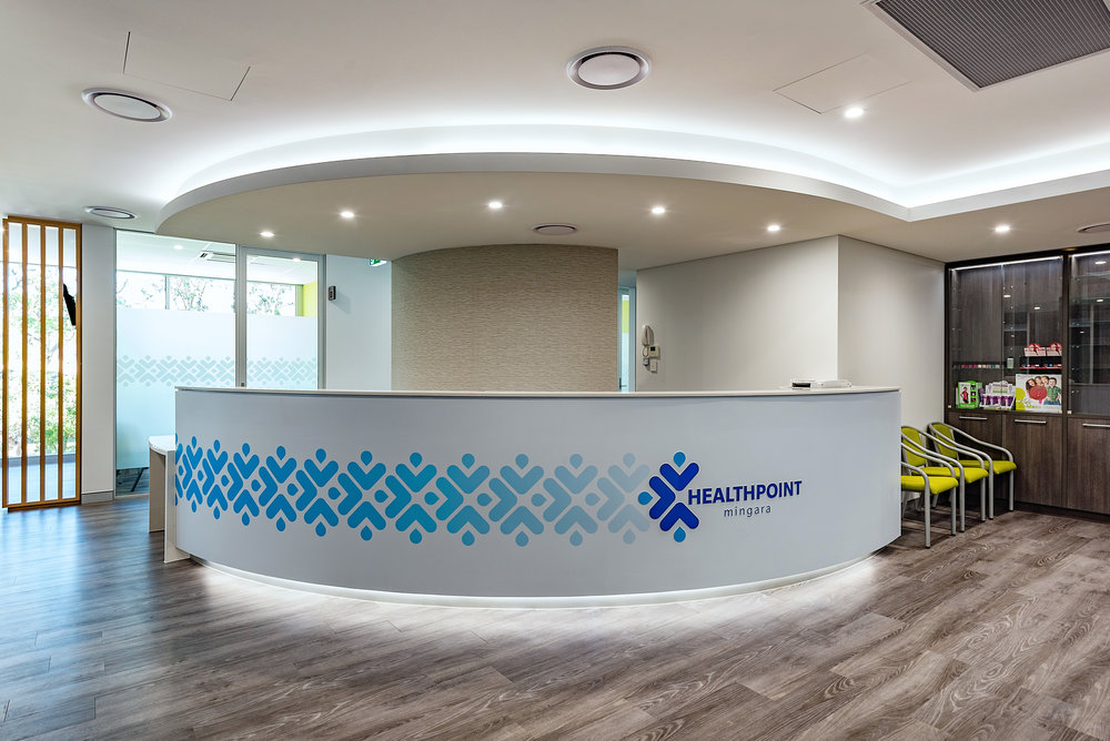 Mingara Medical Reception Fitout
