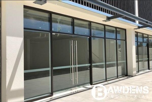 Full glass shopfront