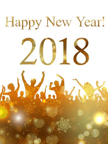 ahha happy new year 2018
