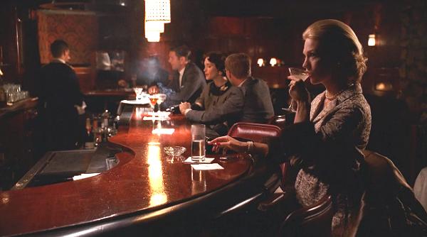 Betty Draper at Three Clubs