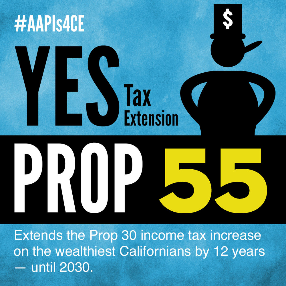 Yes on Proposition 55: Tax Extension