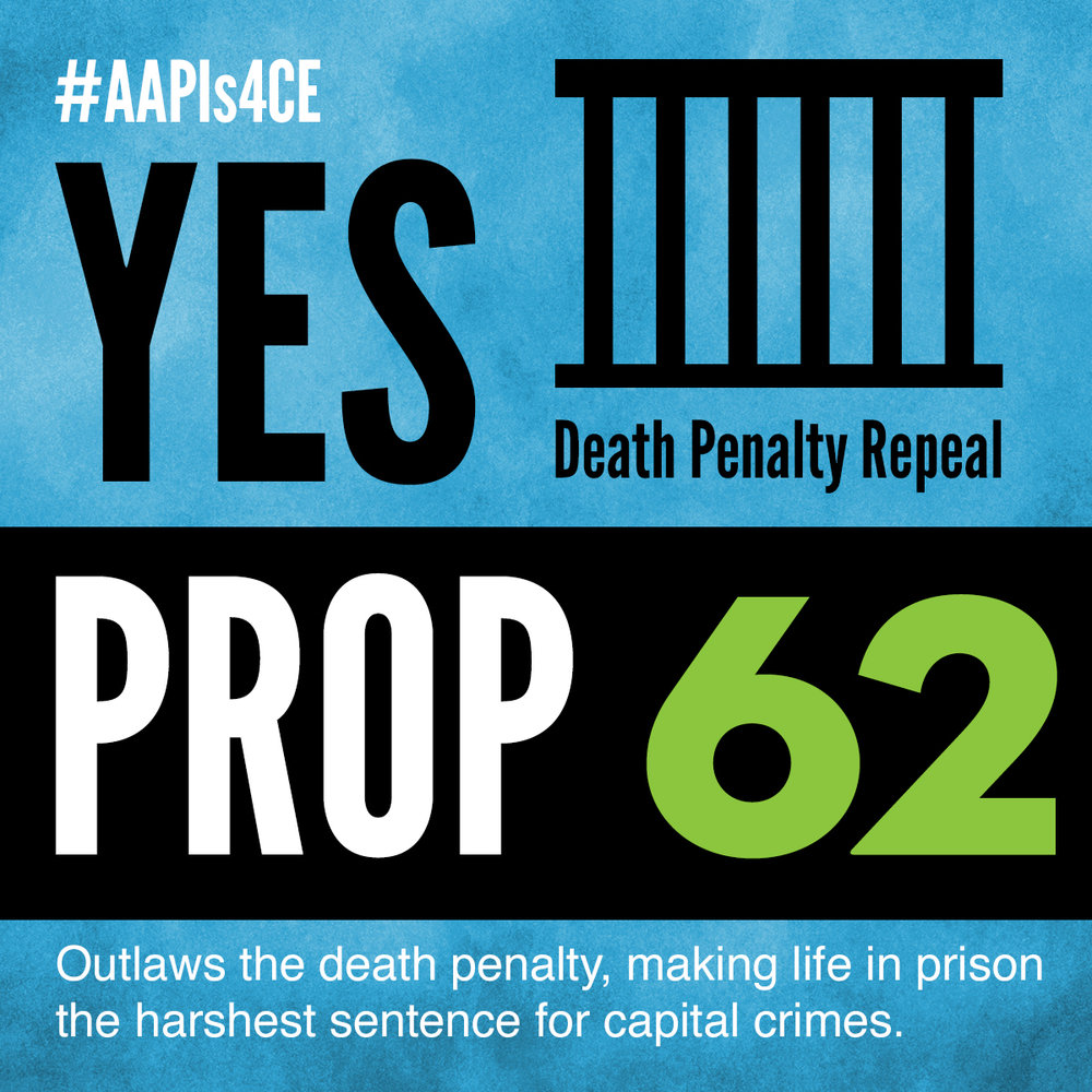 Yes on Proposition 62: Death Penalty Ban