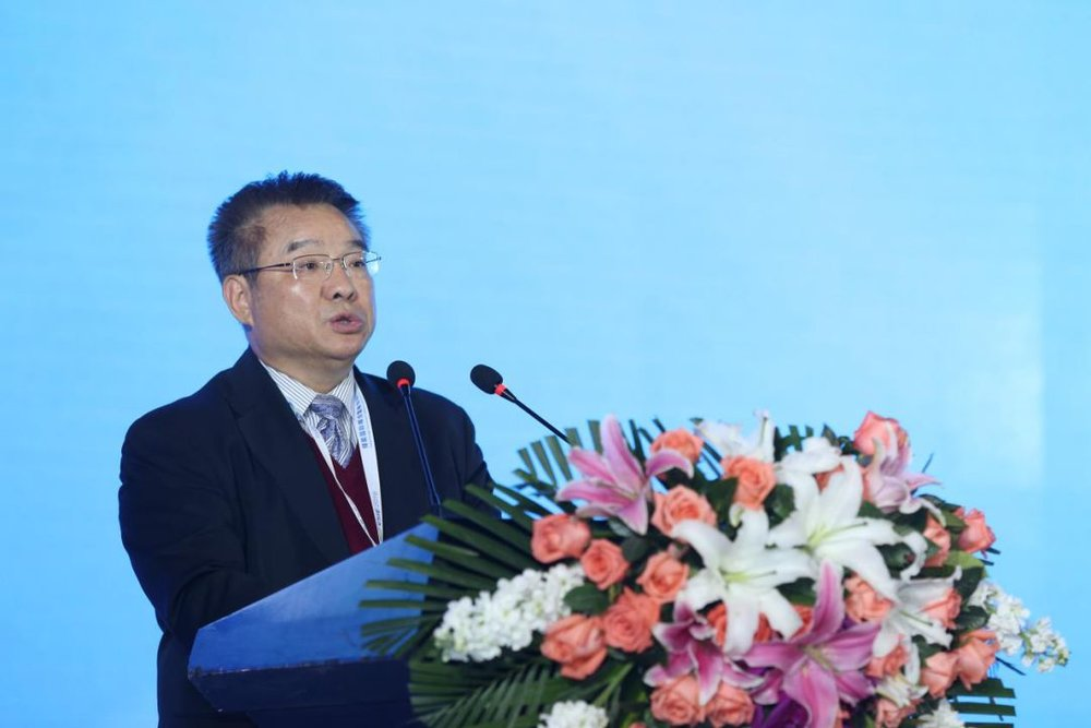 Chinese Academy of Sciences International Cooperation Department Director Cao Jinghua Delivers a Speech