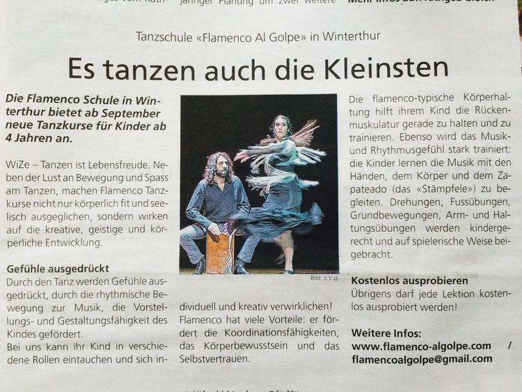 Winterthurer Zeitung (26.08.2015)