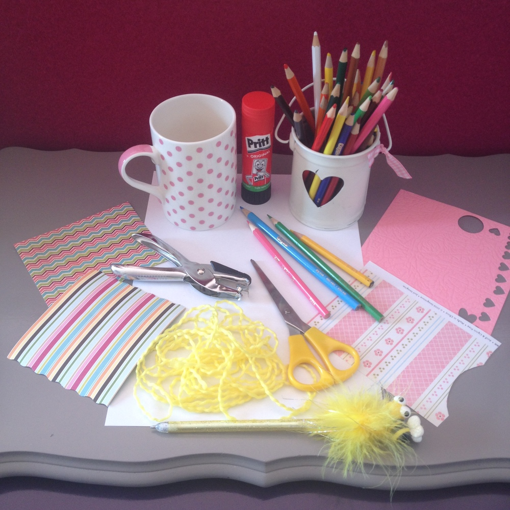 Paper-craft Medal supplies