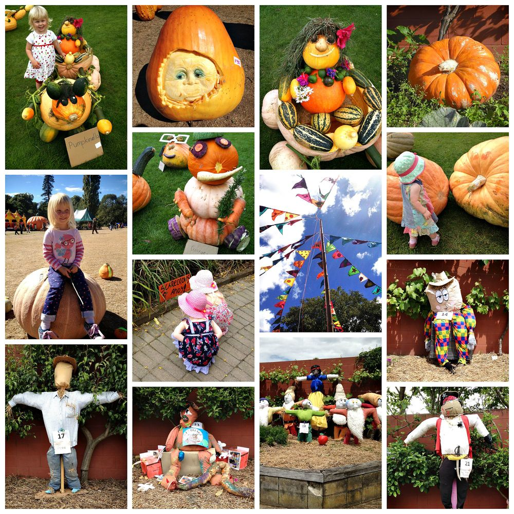 The pumpkin and scarecrow festival - 2 of Arabella & Lucy's favourite fun events!