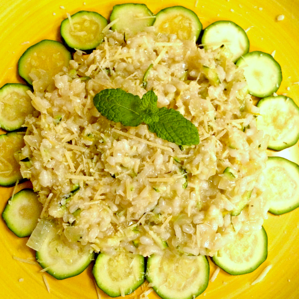 Lemon & Courgette Risotto