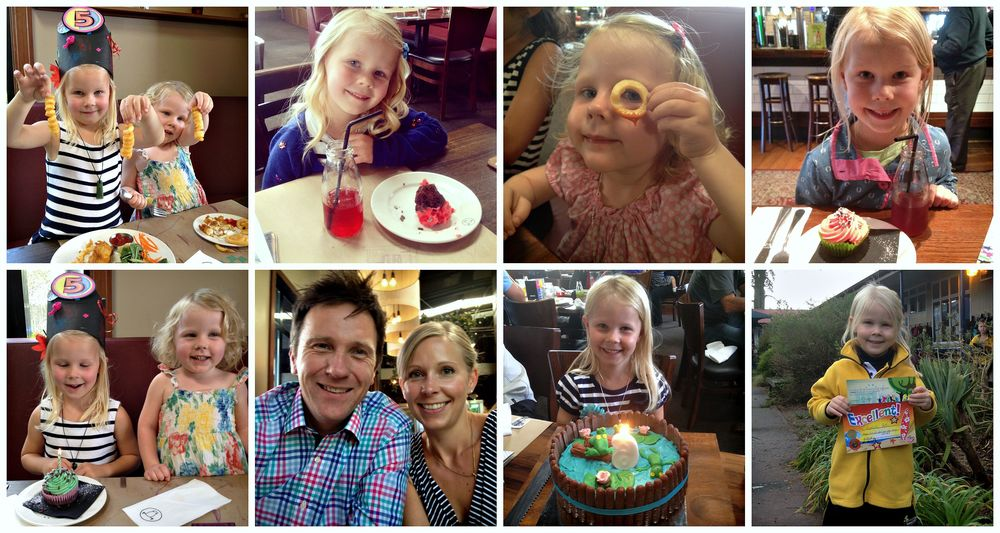 Happy times at Smith & McKenzie - Arabella's 5th & 6th Birthdays and Star of the Week cupcakes