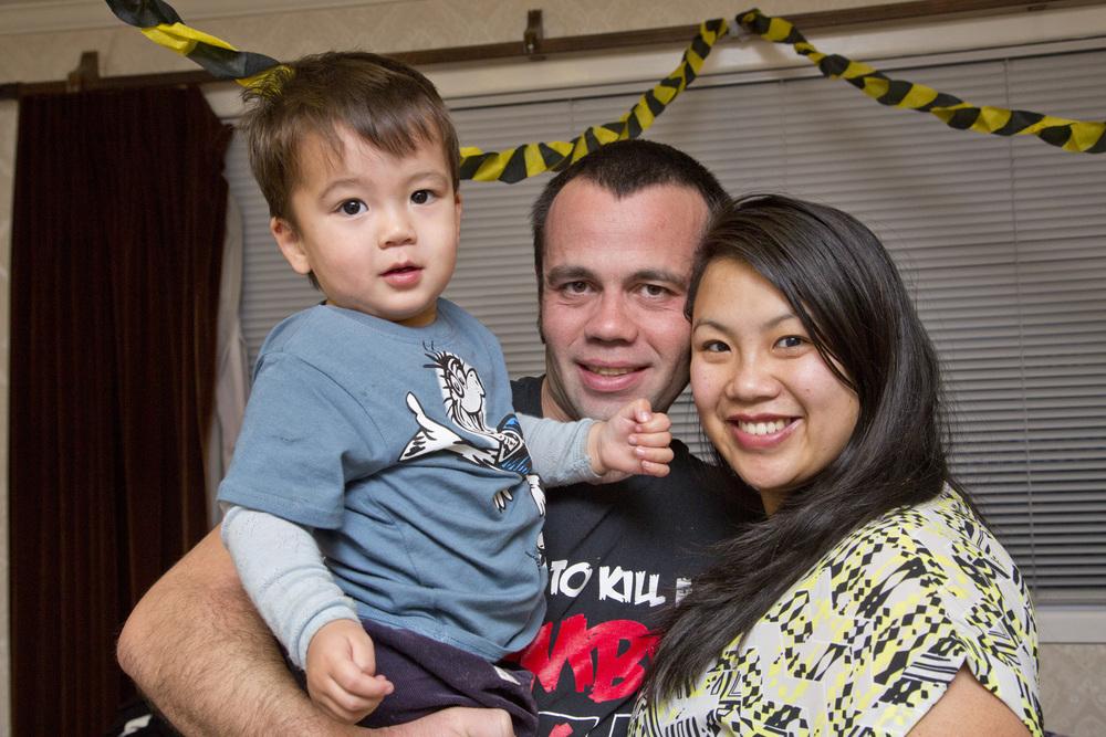 Nicola Rankine & Family