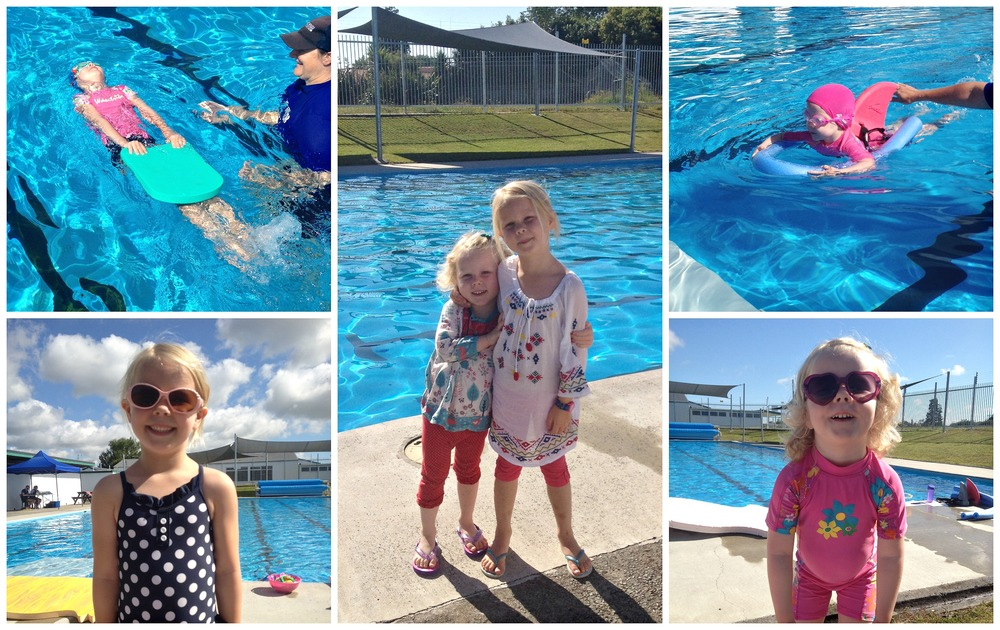 Summer swimming at Peachgrove Intermediate 25m pool