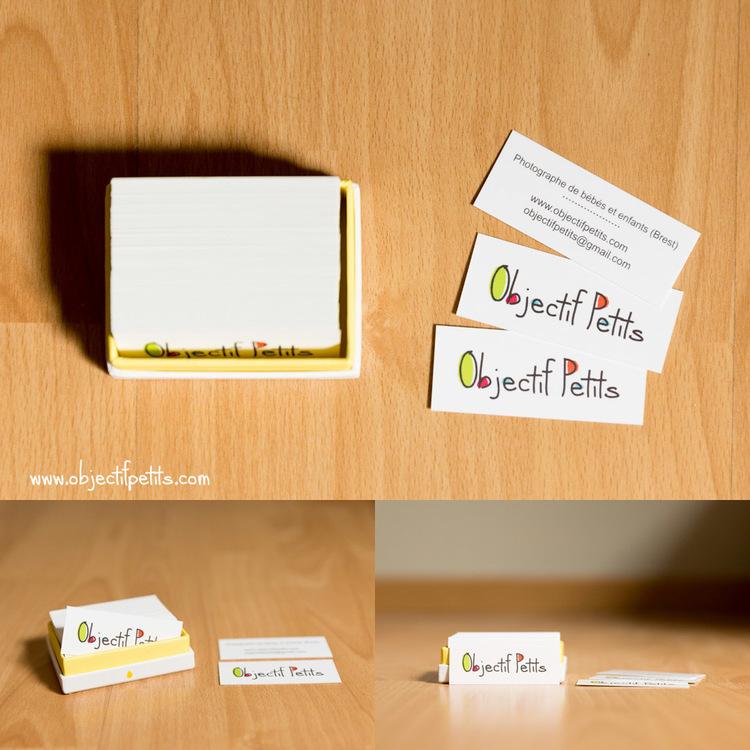 Objectif Petits Mini Cartes De Visite Moo