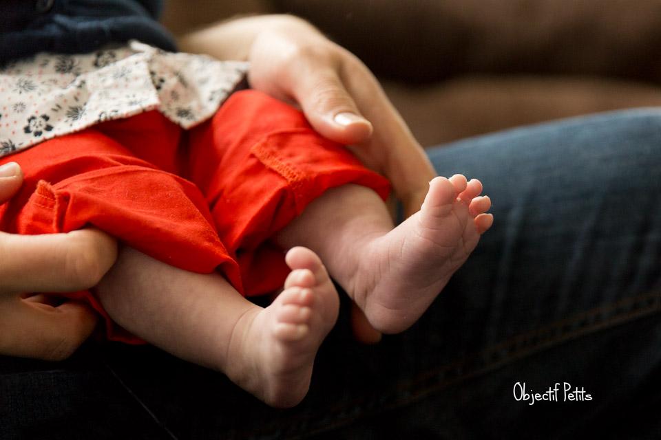 Séance-photo bébé à domicile BREST - Objectif Petits