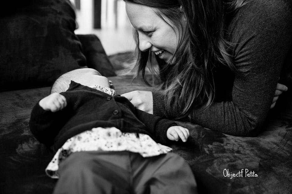 Photographe Brest Bébés à domicile Objectif Petits