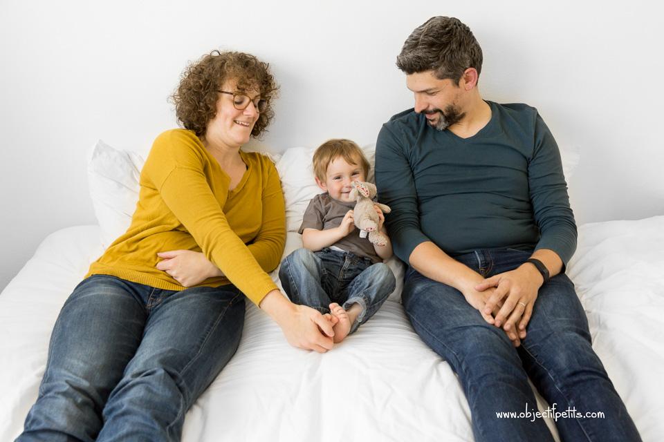 Séance-photo Bébés Enfants Familles à Brest avec Objectif Petits