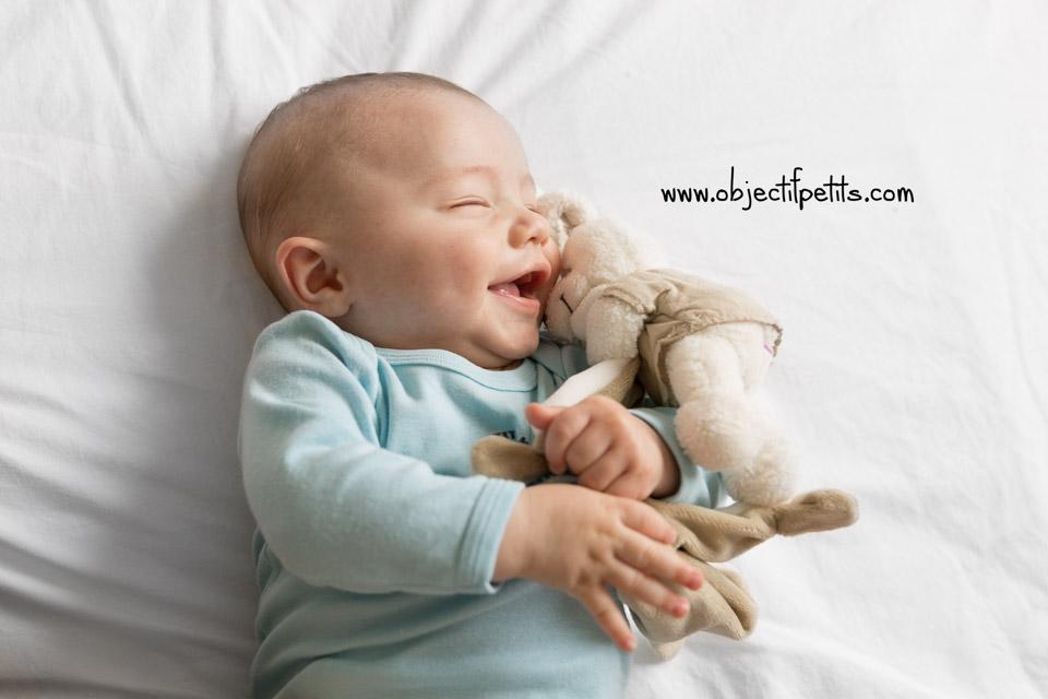 Séance photo bébé à Brest, Objectif Petits, Photographe de bébés, enfants et familles à Brest