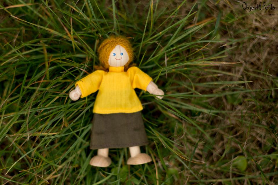 Dans l'herbe, Projet 52 Semaine 31, Objectif Petits, Photographe de bébés, enfants et familles à Brest