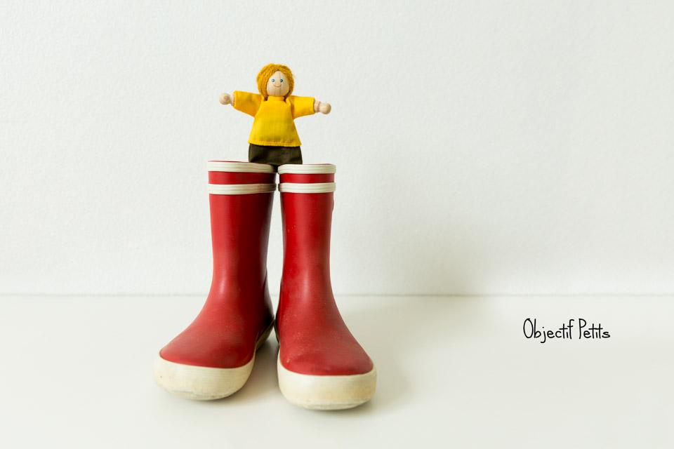 Les bottes, Projet 52, Semaine 37, Objectif Petits, Photographe de bébés, enfants et familles à Brest (Bretagne)