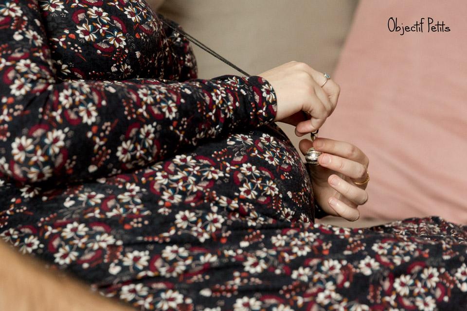 Séance photo grossesse en couple lifestyle à Quimper | Vanessa HERY, photographe chez Objectif Petits www.objectifpetits.com