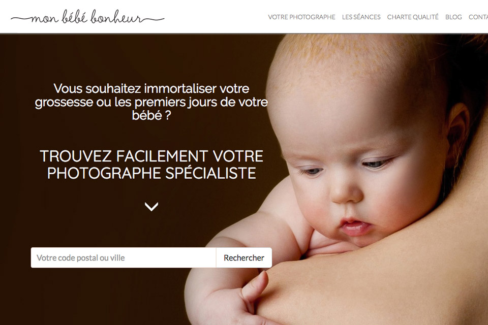 Mon Bébé Bonheur | Article relatant le travail de Vanessa HERY Photographe Famille & Mariage à Brest www.objectifpetits.com