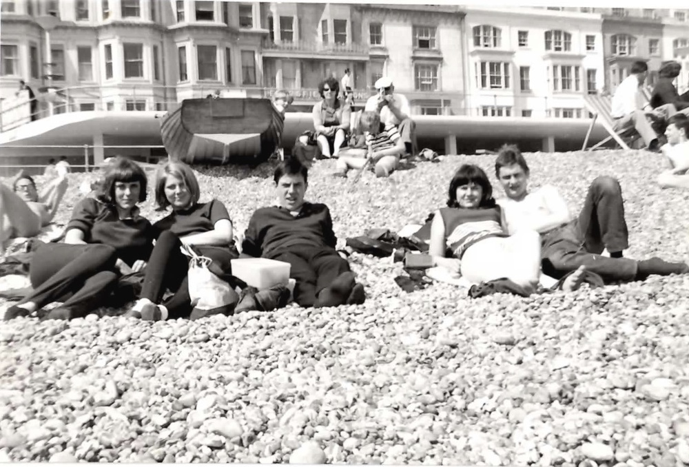 Janet & Peter Campbell (centre couple) St Leonards '64