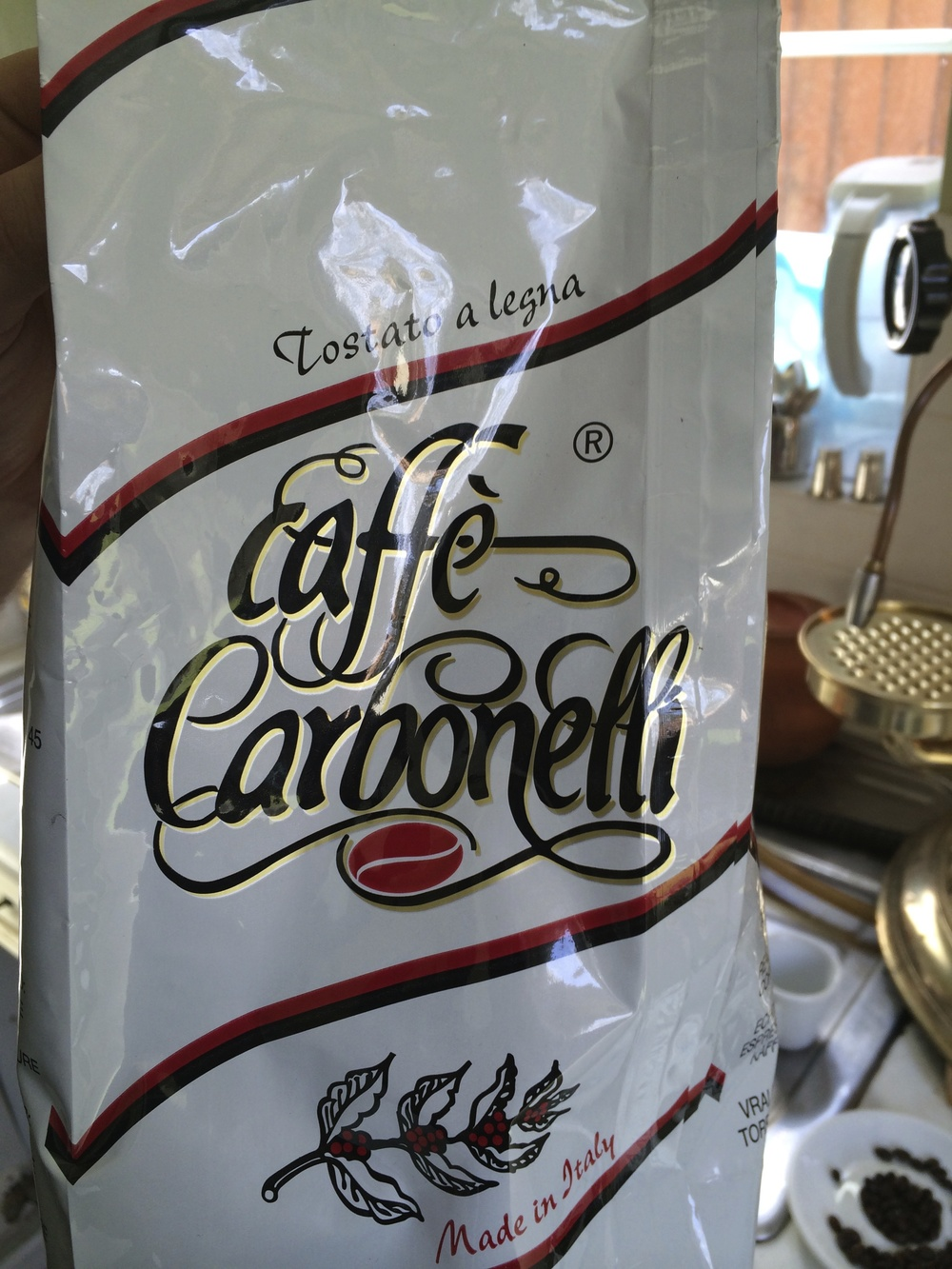 Caffe Carbonelli beans