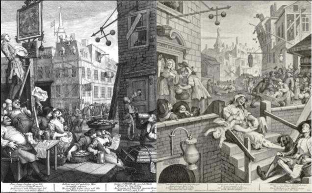 Hogarth's Gin Lane