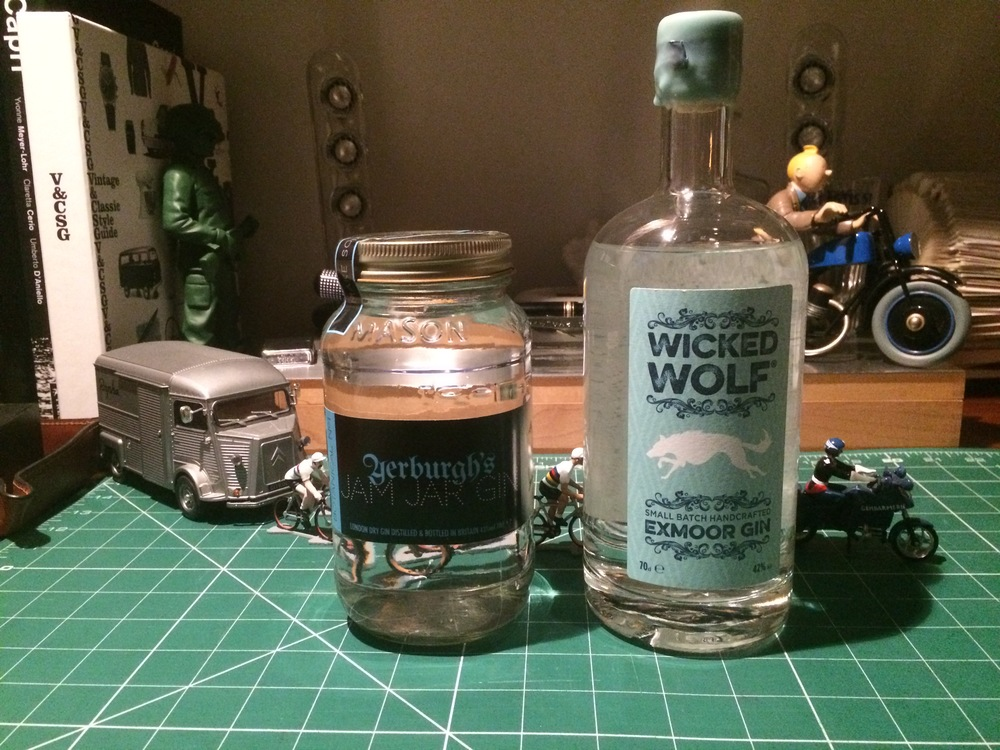 Yerburgh's Jam Jar Gin & Wicked Wolf Exmoor Gin
