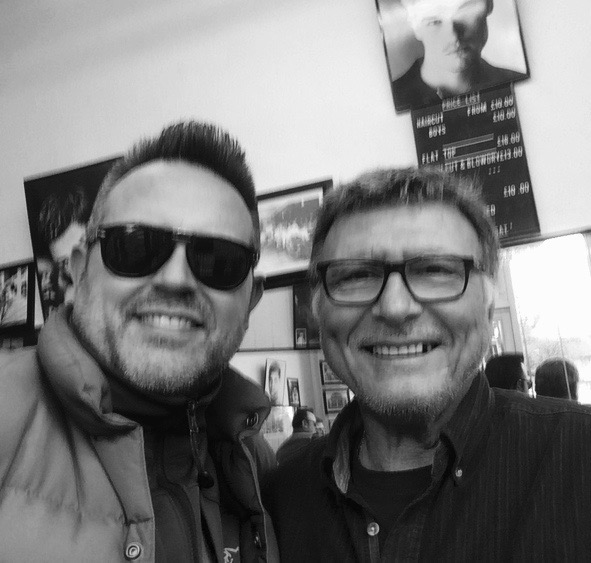 Andreas Sallas:still the Master Flat Top Barber at 70.