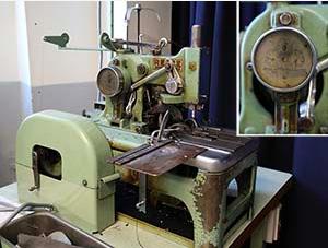 Edouard's buttonhole machine