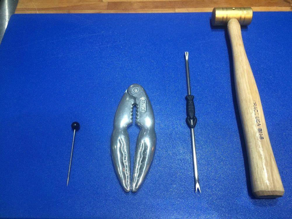 Crustacean destruction kit