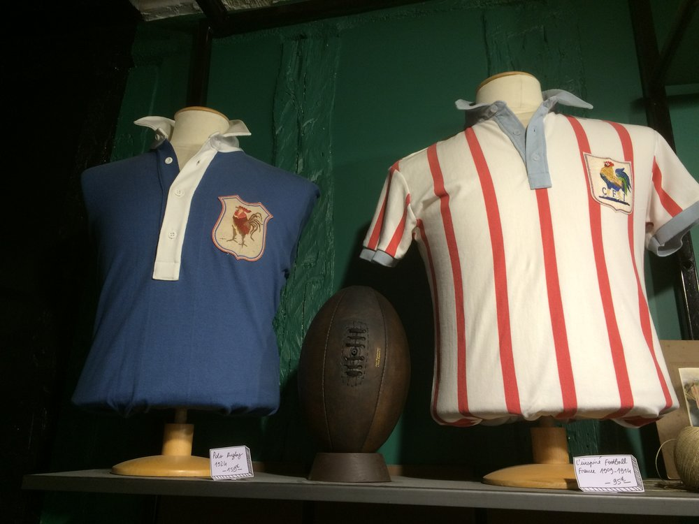 Vintage rugby shirts from Sport D'Epoque