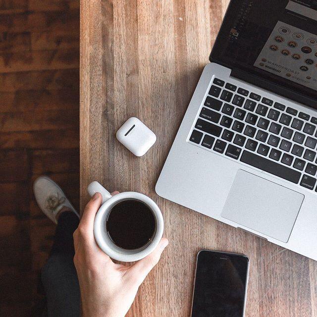 Coffee? Check. MacBook? Check. Blue Monday? No chance.