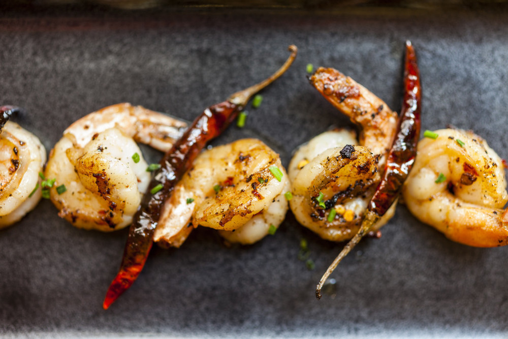 Chilli Garlic Prawns