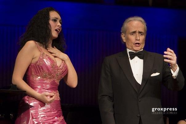 Linz, Österreich, Konzert mit Maestro Jose Carreras, 24 Marz 2015