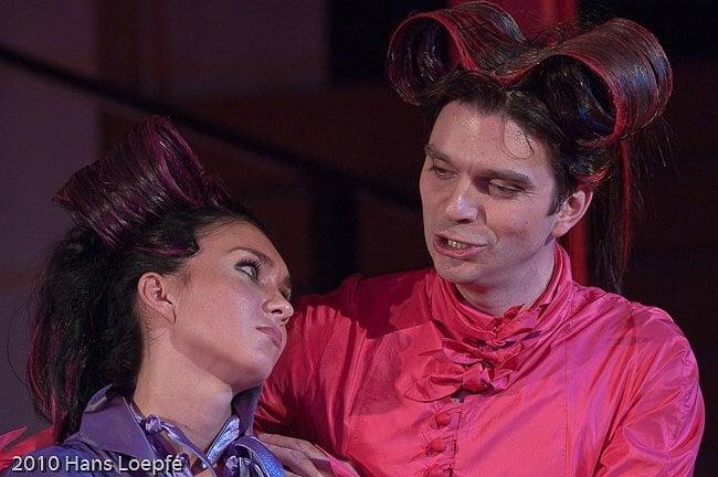 "Festival in St. Moritz, Switzerland, role of Cherubino in the opera ""The Marriage of Figaro"", June 2010"