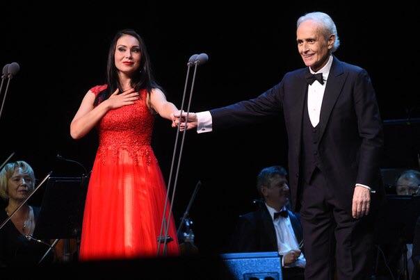 концерт Маэстро Хосе Каррераса, Москва, 30 сентября 2016