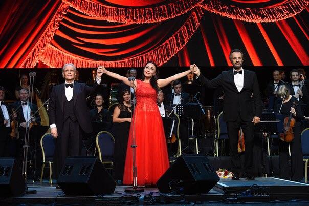 Moskau, Konzert von Maestro Jose Carreras, 29 September 2016