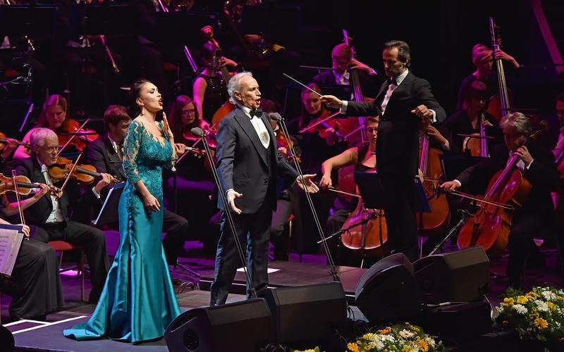 Royal Albert Hall, London, Konzert mit Maestro Jose Carreras und Royal Philharmonic Concert Orchestra, 15 Mai 2016