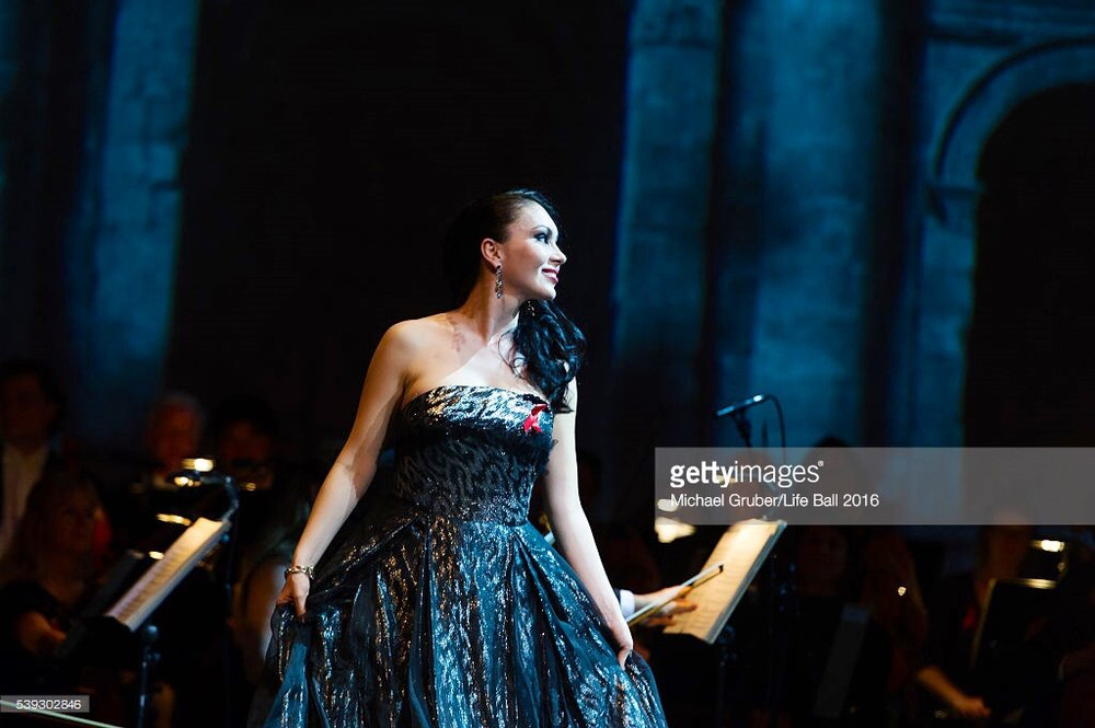 Burgtheater, Vienna, Red Ribbon Celebration Concert, 10 Juni 2016