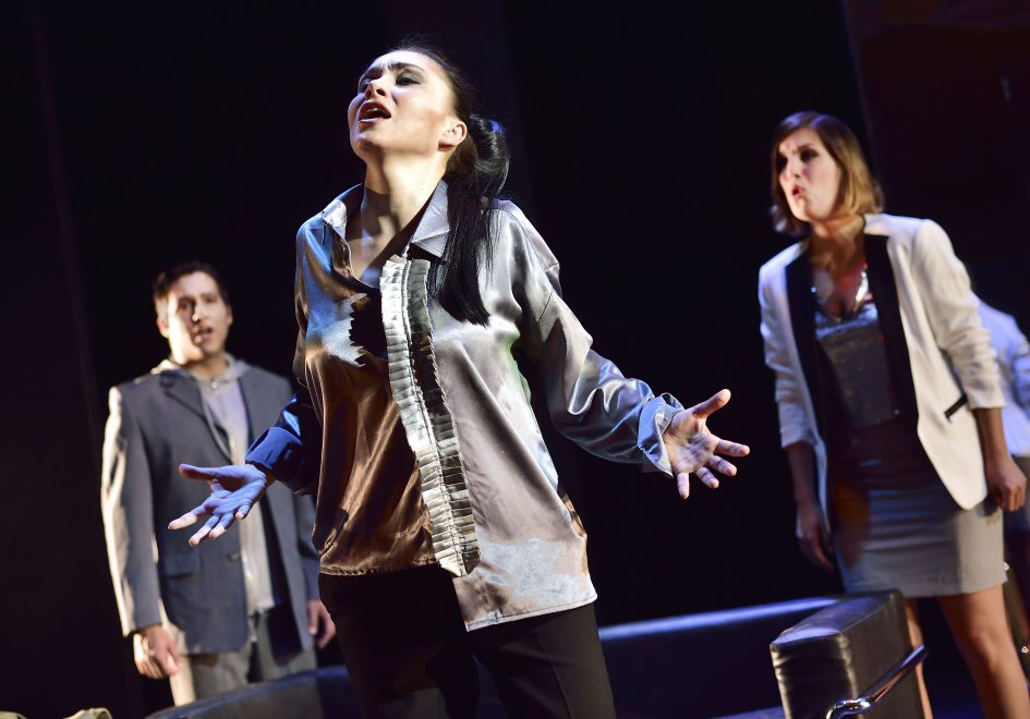 "Bad Wildbad, Germany, role of Sigismondo in the opera ""Sigismondo"", July 2016"