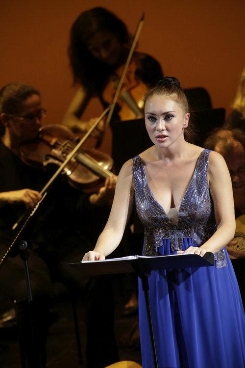 "Opera Koeln, Germany, role of Fulvio in the opera ""Catone in Utica"", September 2016"