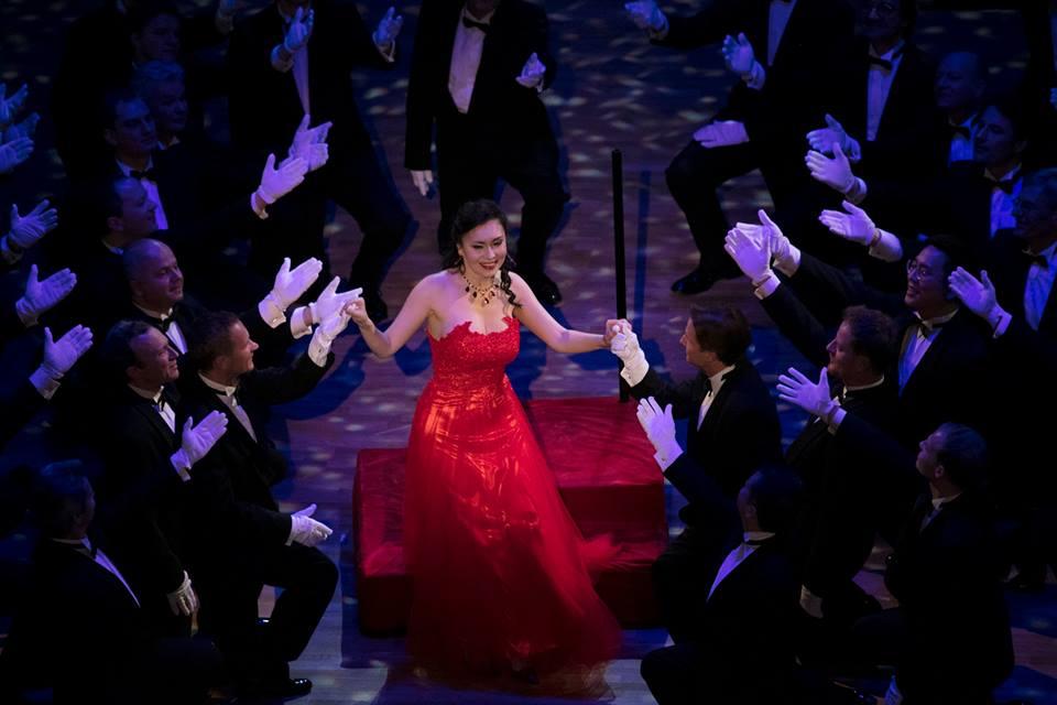 оперный бал, Дрезден, Германия 3 февраля 2017