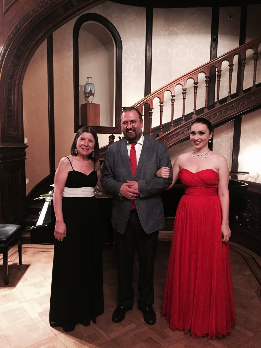 Концерт с Марией Принц,Российский центр науки и культуры, Вена, 29 мая 2017