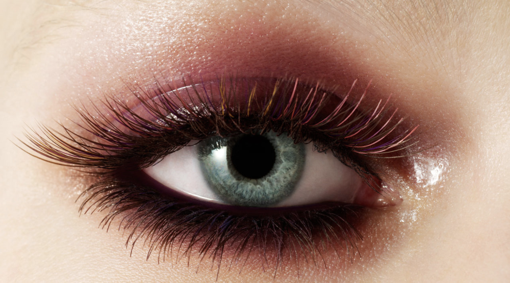Coloured Eye Lashes