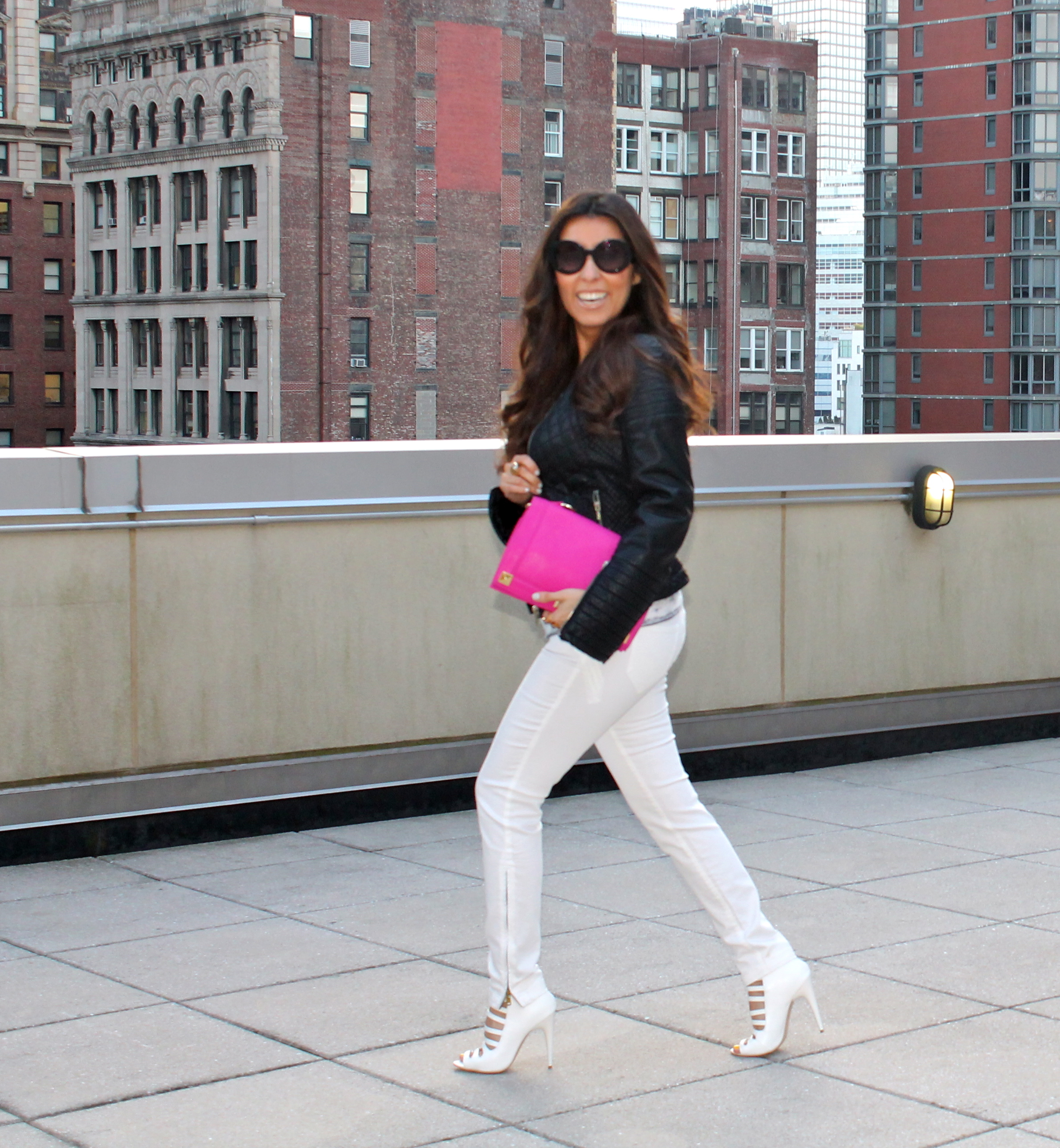 White Jeans and White Shoes — Flor de Maria Fashion