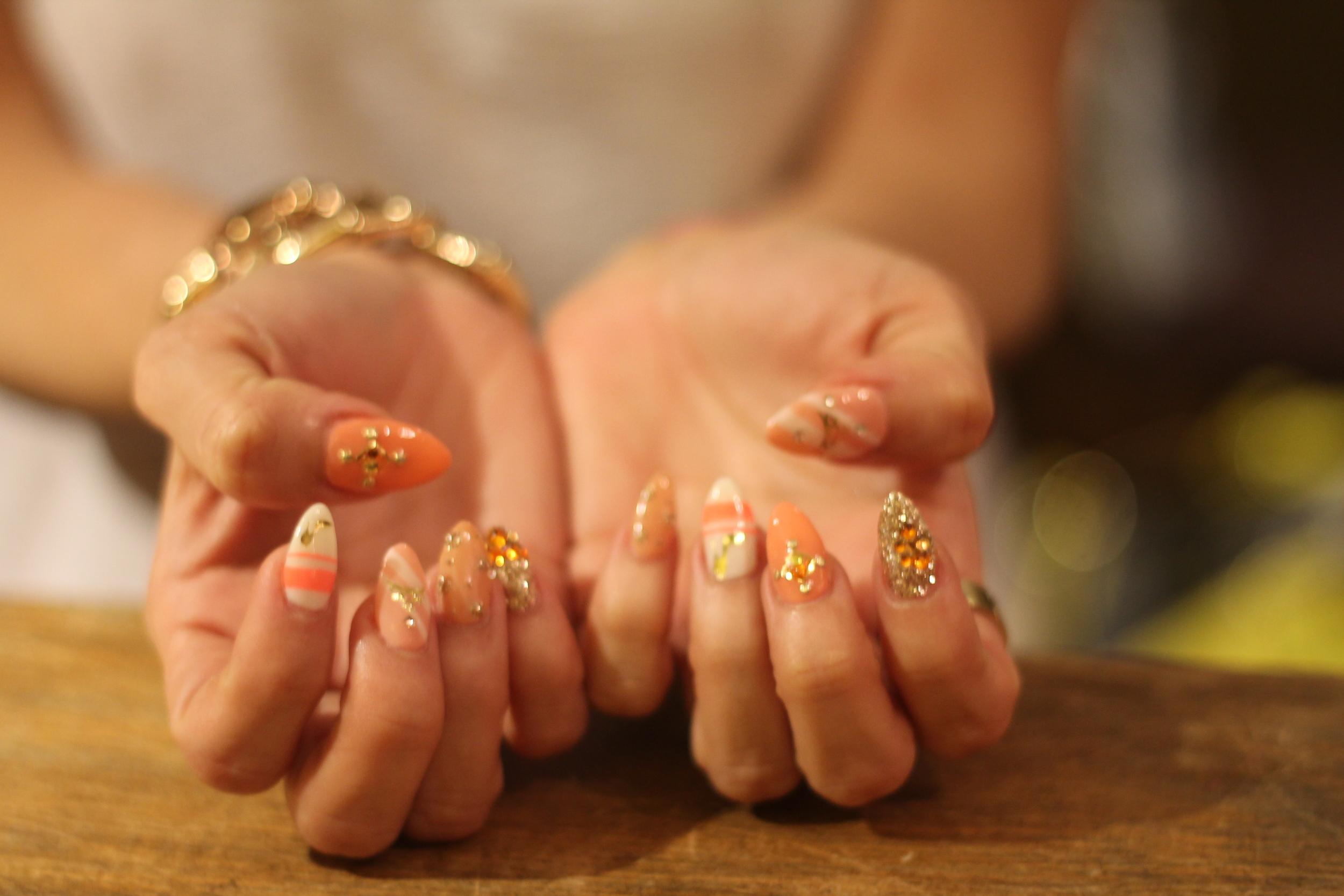 Fancy Nail Art — Flor de Maria Fashion