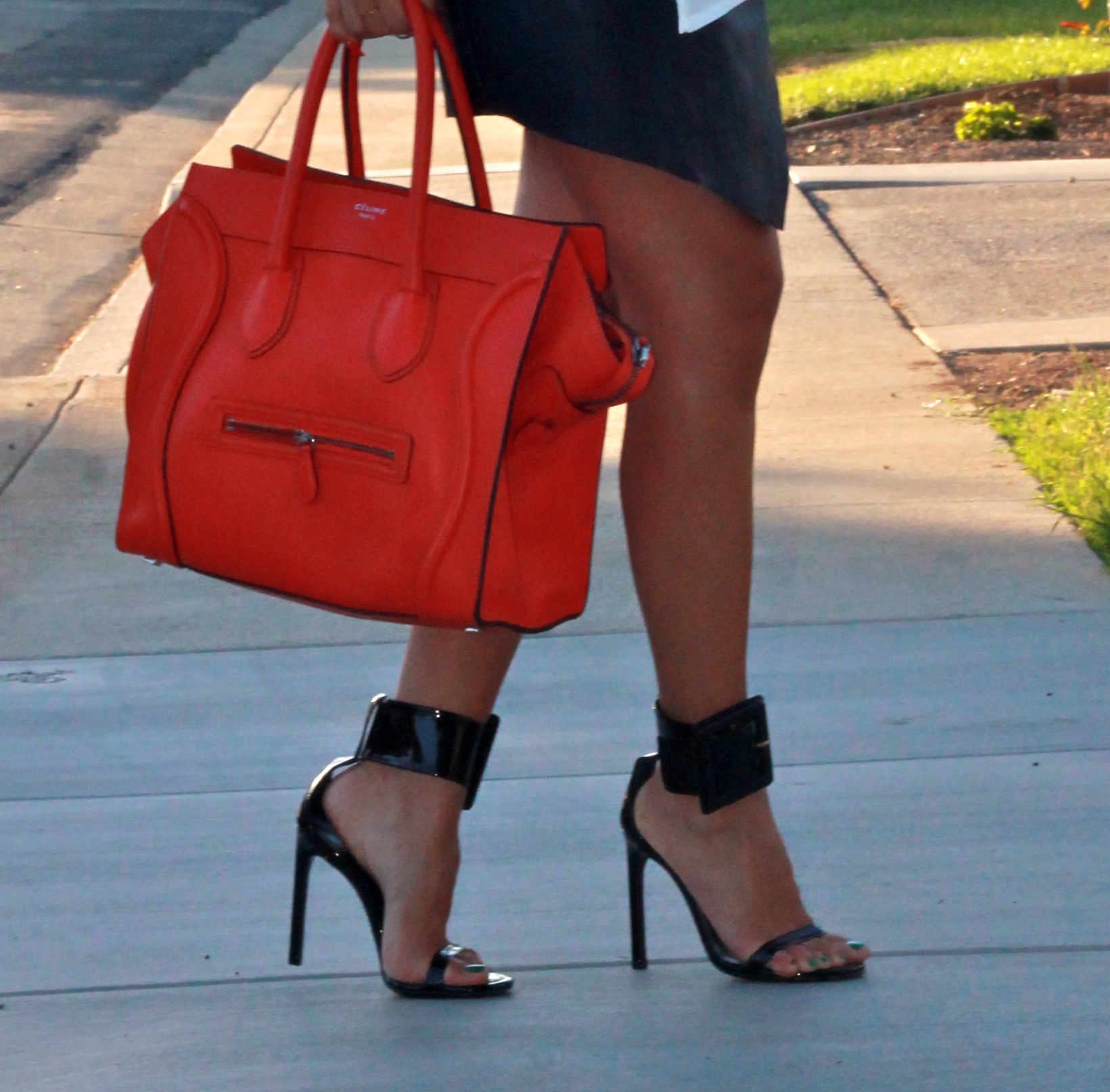 snapback and gucci heels � flor de maria fashion