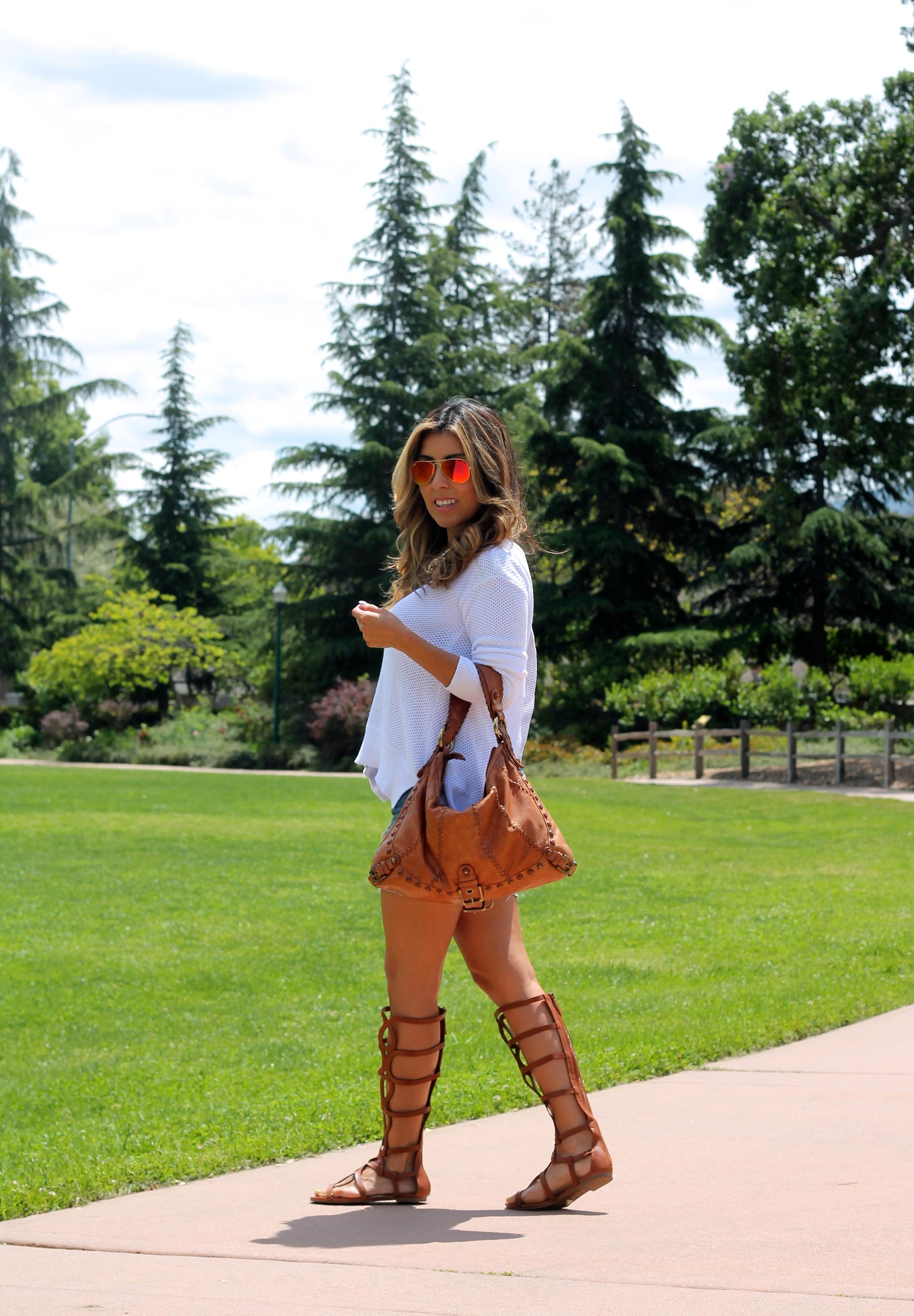 Gladiator Sandals — Flor de Maria Fashion