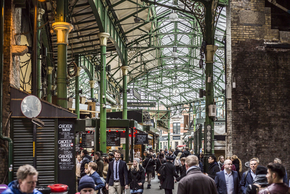 Photographed at Borough Market, South London